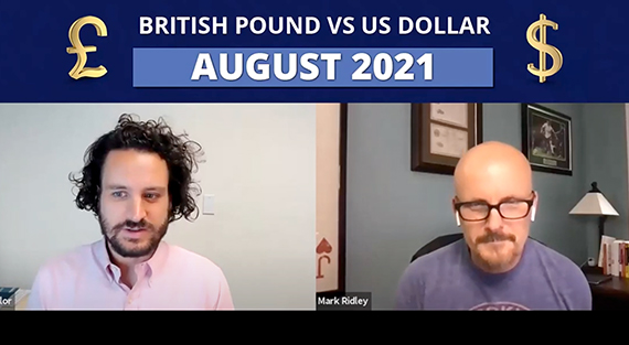 monthly gbp vs usd update august 2021