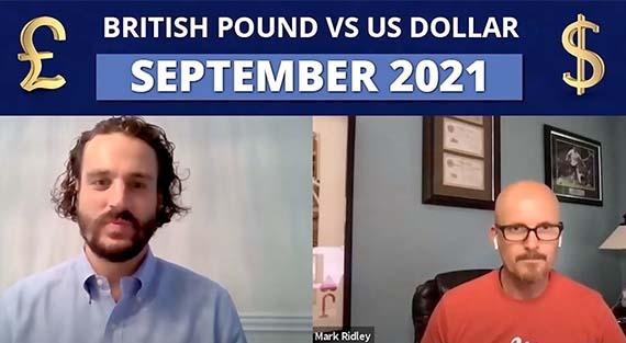 british pound vs us dollar september 2021 - taylor and taylor / greenshoots fx